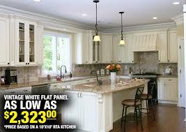 Pics Of White Kitchen Cabinets White Kitchen Cabinets Vintage White Flat Panel Kitchen Cabinets
