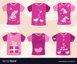 valentines shirts valentines day t shirts design royalty free vector image