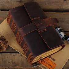 leather photo albums engraved made leather journal handmade journal engraved leather