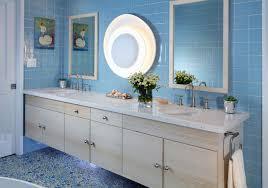 Blue Glass Tile Bathroom - blue tile bathroom houzz