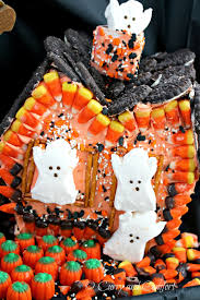 Halloween Haunted House Cake Kitchen Simmer Boo Licious Haunted House With Sweet Creations By