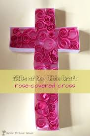 abcs of the bible crafts c is for cross