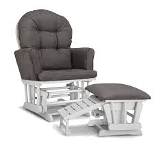 Upholstered Rocking Chairs For Nursery Graco Semi Upholstered Glider And Nursing