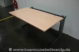 B Obedarf Schreibtisch Schreibtisch 160x80 In Wildbirne Von Lorbeer