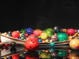 boat with balls chihuly picture of chihuly garden and glass
