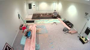 build my home my home theater construction part 1 stage construction 1