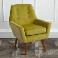 Yellow Velvet Armchair Unusual And Statement Armchairs Notonthehighstreet Com