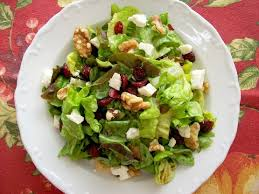 cranberry salad recipe with feta and walnuts genius kitchen