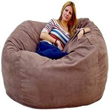 amazon com cozy sack 6 feet bean bag chair large earth kitchen