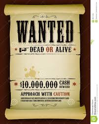 wanted poster template 53 free printable word psd illustration