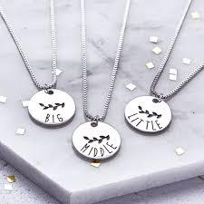 big necklace sets images Big middle and little sister necklace set by junk jewels jpg