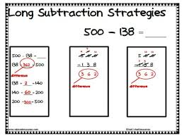 39 best math subtraction images on pinterest teaching math