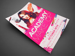 Makeup Course Makeup Course Flyer Template2 By Jay Key Dribbble