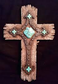 wall decor crosses turquoise cross wall decor new west rustic wall decor cross w