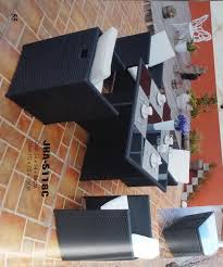 Space Saver Dining Set by Wicker Space Saver Dining Set Decon Wicker Furniture Wicker Dining Set