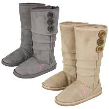 pink ribbon slouch boots the breast cancer site