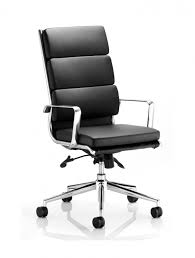 Black Leather Office Chairs Amazon Boss Office Products B8601 High Back No Tools Required