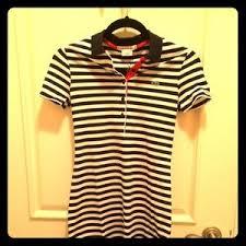 light blue striped polo dress lacoste dresses skirts navy bluewhite striped polo dress poshmark