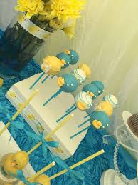 Themes Baby Shower Rubber Ducky Baby Shower Table Decor As Well
