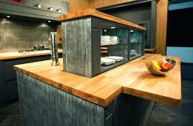 ilot de cuisine en bois ilot cuisine bois central en newsindo co