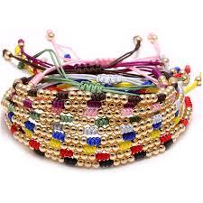 diy gold bracelet images New fashion diy gold bead bracelet seed bead pattern bracelet with jpg