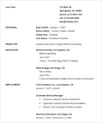free basic resume template gfyork com