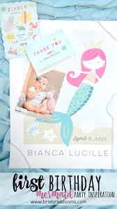 first birthday mermaid party inspiration brie brie blooms