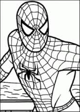 ultimate spiderman coloring pages kids coloring pages
