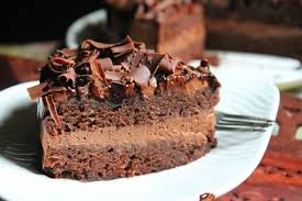 rich chocolate mousse cake recipe yummy tummy