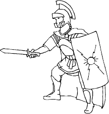 coloring pages fascinating roman coloring pages soldier free