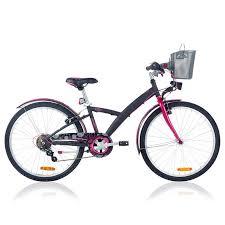 siège vélo é vélo enfant vtc 24 pouces nature decathlon