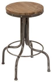 Steampunk Bar Stools Paw Round Bar Stool Industrial Bar Stools And Counter Stools