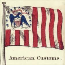 file american customs johnson s new chart of national emblems