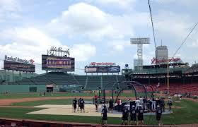 boston red sox on break but fenway park hosts cape cod league
