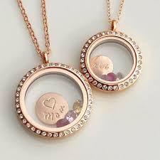 gold mother necklace images Mothers day gold cz halo locket necklace from diana bostany jpg