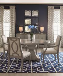 soften your dining room with curtains drapes and rugs interior