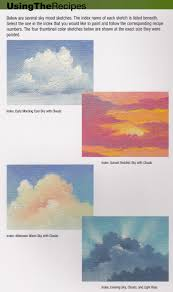 craftside sky color combinations from the book 1 500 color mixing