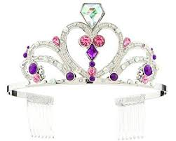amazon disney sofia crown tiara girls princess