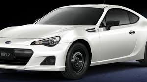 brz subaru silver toyota gt 86 and subaru brz purist spec versions released jdm
