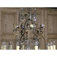 Italian Porcelain Chandelier Stunning Italian Brass Crystal U0026 Hand Painted Porcelain
