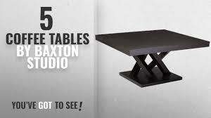 baxton studio dauphine coffee table top 10 baxton studio coffee tables 2018 baxton studio everdon