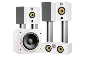 bowers and wilkins home theater bowers u0026 wilkins 685 s2 theatre 5 1 home theater system digital