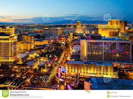Las Vegas Strip Hotels Map by Las Vegas Editorial Photo Image 32757346