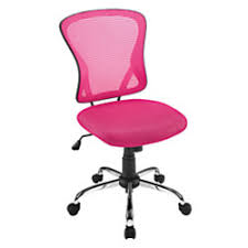 Office Max Office Chair Brenton Studio Mesh Mid Back Chair Pinkblack By Office Depot