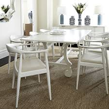 White Wood Dining Room Table by Dining Room Feeling Dark And Dated A White Table Could Be The Key