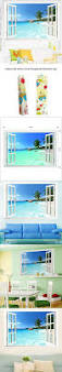 2052 best images about beach home decor on pinterest beach large removable beach sea 3d window decal home decor exotic beach view art wallpaper mural view