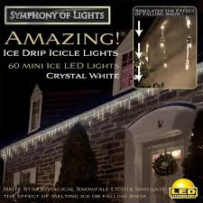 led dripping icicle christmas lights kindy s factory outlet amazing ice drip icicle light show pure white