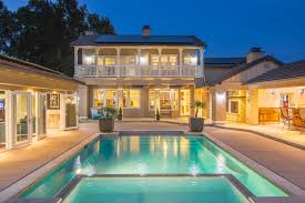 dreamy ladera ranch backyard with 460 sq ft cabana pool party