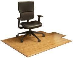 Wood Desk Chair by Bamboo Office Chair Mats U0026 Hardwood Mats By Anji Mountain Bamboo