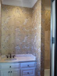 Toile Bathroom Wallpaper by Inspiration Gallery Photos From Wia Wallcovering Installers